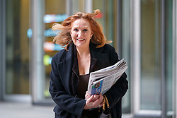 © Licensed to London News Pictures. 05/02/2017. London, UK. Deputy Chair of UKIP SUZANNE EVANS leaves BBC Broadcasting House in London after appearingz on The Andrew Marr show on BBC One on 5 February 2017. Photo credit: Tolga Akmen/LNP