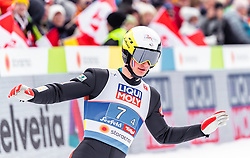 28.02.2019, Seefeld, AUT, FIS Weltmeisterschaften Ski Nordisch, Seefeld 2019, Nordische Kombination, Team Sprung, im Bild Antoine Gerard (FRA) // Antoine Gerard of France during Team Jumping competition for Nordic Combined of FIS Nordic Ski World Championships 2019. Seefeld, Austria on 2019/02/28. EXPA Pictures © 2019, PhotoCredit: EXPA/ JFK