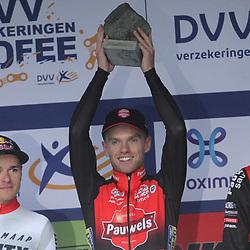 01-11-2019: Wielrennen: DVV trofee Veldrijden: Koppenberg: Eli Iserbyt wint de Koppenberg bij de elite mannen voor Tom Pidcock en Michael Vanthourenhout