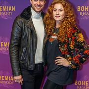 NLD/Amsterdam/20181030 - Premiere Bohemian Rapsody, Beau Schneider en Britte Lagcher