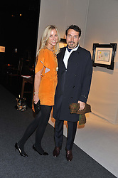 PAD London 2012 held in Berkeley Square, London on 10th October 2012.<br /> Picture shows:- KATE DRIVER and RUFUS SEWELL.