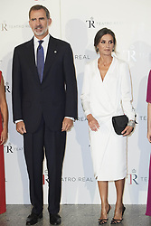 September 18, 2019, Madrid, Madrid, Spain: 18-09-2019 Madrid Queen Letizia and King Felipe visiting the opera ''Don Carlo'' at the start of the opera season 2019-2020 at the Real theater in Madrid. (Credit Image: © face to face via ZUMA Press)