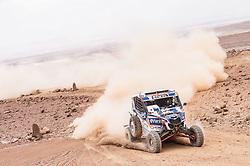 January 10, 2019 - Arequipa, Peru - AREQUIPA, PU - 10.01.2019: DAKAR 20189 - Kariakin Sergei (RUS) during the Dakar Rally 2019, on Wednesday (10), in Arequipa, Peru. (Credit Image: © Victor EleutéRio/Fotoarena via ZUMA Press)