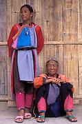 Lisu Tribeswomen, Mae Hongson, Thailand