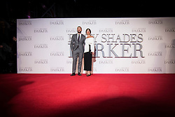 Jamie Dornan and wife Amelia Warner attending the UK premiere of 50 Shades Darker, at the Odeon cinema in Leicester Square, London. Picture date: Thursday February 9th, 2017. Photo credit should read: Matt Crossick/ EMPICS Entertainment.