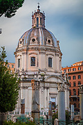 The Church of the Most Holy Name of Mary at the Trajan Forum is a Roman Catholic church in Rome, Italy. This church should not be confused with the church Santissimo Nome di Maria in Via Latina in south-east Rome.