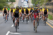 I rode with Lance Armstrong