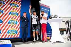 May 20, 2018 - Lillehammer, NORWAY - 180520 Øivind Lukkedal of Norway during the award ceremony after the last stage of the Tour of Norway on May 20, 2018 in Lillehammer..Photo: Jon Olav Nesvold / BILDBYRÃ…N / kod JE / 160254 (Credit Image: © Jon Olav Nesvold/Bildbyran via ZUMA Press)