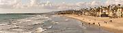 People On The Beach In Oceanside