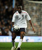 Villa Park Birmingham England U21 v Wales U21  14/10/2008<br /> Fabrice Muamba (England)<br /> Photo Roger Parker Fotosports International