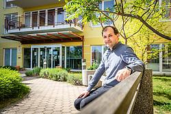 Portrait of Zlatko Gricnik, CEO of Dom sv. Lenarta, on May 8, 2020 in Lenart, Slovenia. Photo by Blaž Weindorfer / Sportida