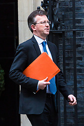 London, December 05 2017. Attorney General Jeremy Wright leaves 10 Downing Street following the weekly cabinet meeting. © Paul Davey