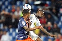 Choc Montpellier - Angers Joris MARVEAUX (MHSC)