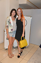 Left to right, MARGO BUSHUEVA and MORWENNA LYTTON COBBOLD at the French Connection #NeverMissATrick Launch Party held at French Connection, 396 Oxford Street, London on 23rd July 2014.
