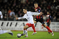 FOOTBALL - FRENCH CHAMPIONSHIP 2009/2010  - L1 - US BOULOGNE v PARIS SAINT GERMAIN  - 2/12/2009 - PHOTO JEAN MARIE HERVIO / DPPI - JEREMY CLEMENT (PSG)