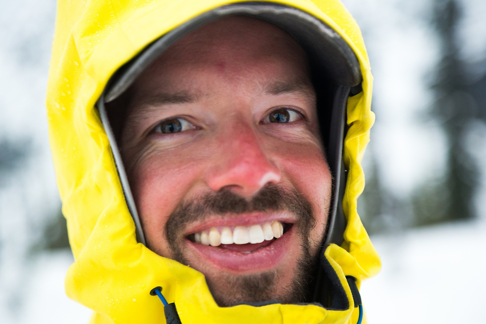Up-close portrait of Andy Mahre.
