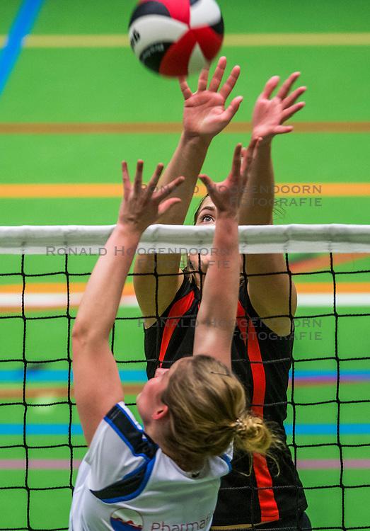 14-01-2017 NED: vv Utrecht - US Amsterdam, Utrecht<br /> vv Utrecht verslaat US met 3-1 / Leanne Verdonck #9
