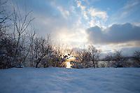 Vinterstemning.<br /> Foto: Svein Ove Ekornesvåg