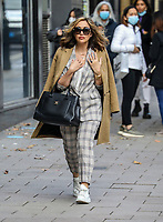 Myleene Klass, Global Radio Studios, London, UK, 07 October 2020, Photo by piQtured
