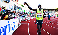 Friidrett ,11. juni 2014 ,  Diamond League , Bislett Games<br /> Athletics , June 11 , 2014<br /> <br /> Jairus Kipchoge Birech , Kenya 3000 m hinder