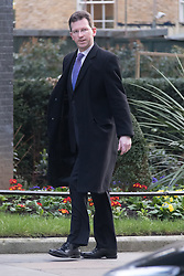 © Licensed to London News Pictures. 10/03/2015. London, UK. Jeremy Wright arrives for a cabinet meeting at 10 Downing Street in London on Tuesday 10th March 2015. Photo credit : Vickie Flores/LNP