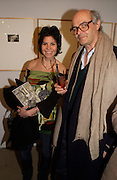 Yasmin Lever and Antoine Laurent, Grievous Angels, Vintage Photographs, Patrick Donovan. 9 March 2004. ONE TIME USE ONLY - DO NOT ARCHIVE  © Copyright Photograph by Dafydd Jones 66 Stockwell Park Rd. London SW9 0DA Tel 020 7733 0108 www.dafjones.com