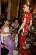 Candy  Soo (Taller), Penelope Tang, and Deborah Fenker Thirteenth Annual Crillon Haute Couture Bazll. Paris, © Copyright Photograph by Dafydd Jones 66 Stockwell Park Rd. London SW9 0DA Tel 020 7733 0108 www.dafjones.com