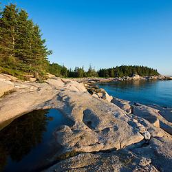 Maine's Great Wass Island near Jonesport. Nature Conservancy preserve.