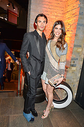MARK-FRANCIS VANDELLI and JADE HARGREAVES-ADAMS at A Night of Motown in aid of Save The Children UK held at The Roundhouse, Chalk Farm Road, London on 3rd March 2016.