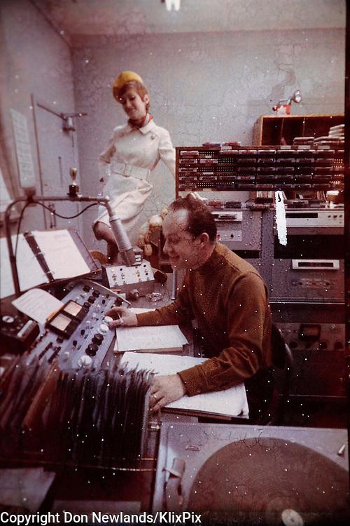 Don Daynard, radio; DJ; Toronto; man; entertainer; woman; broadcast; talent; music; circa 1967 - 1971