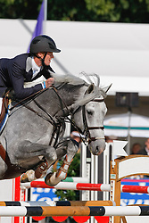Bruynseels Niels (BEL) - Cherubin vd Helle<br /> World Championship Young Horses Lanaken 2008<br /> Photo Copyright Hippo Foto