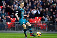 Matt Targett of Southampton in action. Premier league match, Tottenham Hotspur v Southampton at Wembley Stadium in London on Boxing Day Tuesday 26th December 2017.<br /> pic by Steffan Bowen, Andrew Orchard sports photography.