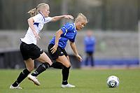 Fotball<br /> Norge<br /> 04.05.2011<br /> Foto: Morten Olsen, Digitalsport<br /> <br /> Trening Norge A kvinner<br /> Nadderud Stadion<br /> Internkamp - Norge Blå mot Norge Hvit<br /> <br /> Lene Mykjåland (B)<br /> Marita Skammelsrud Lund (W)