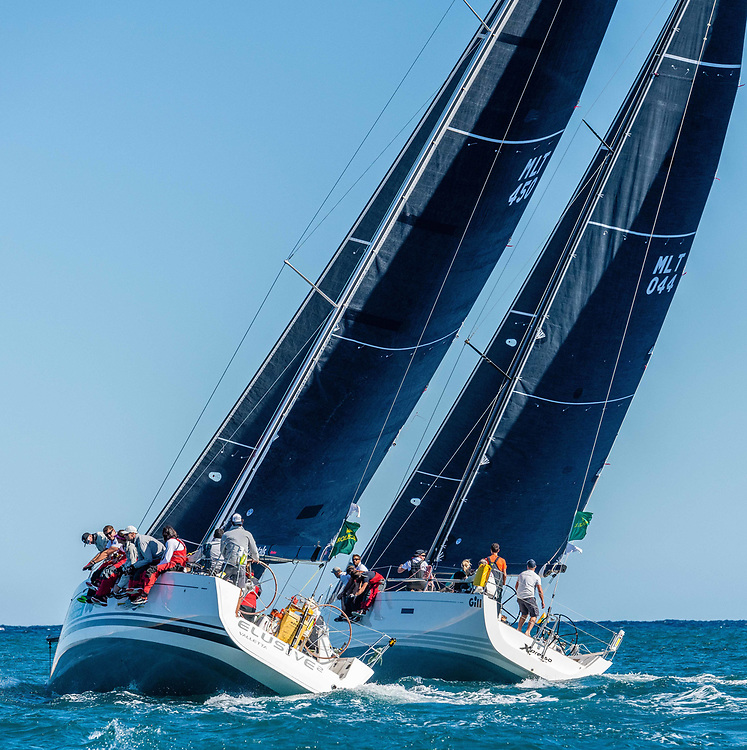 Xpresso, Sail No: MLT 044, Model: XP44ELUSIVE 2, Sail No: MLT 450, Model: Beneteau First 45