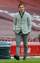 LIVERPOOL, ENGLAND - Sunday, March 7, 2021: Fulham's manager Scott Parker during the FA Premier League match between Liverpool FC and Fulham FC at Anfield. Fulham won 1-0 extending Liverpool's run to six consecutive home defeats. (Pic by David Rawcliffe/Propaganda)