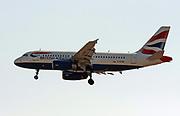 G-EUPZ British Airways, Airbus A319-131 Photographed  at Malpensa (MXP / LIMC), Milan, Italy
