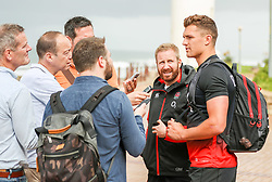 Henry Slade (Exeter Chiefs) of England - Mandatory by-line: Steve Haag/JMP - 20/06/2018 - RUGBY - Hotel Umhlanga - Durban, South Africa - England Rugby Press Conference and Training, South Africa Tour