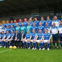 St Johnstone FC Photocall 2015-16
