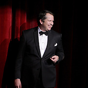 Jeff Phillips performs the opening of the Wilmington Theater Awards at Thursday January 23, 2014 at Thalian Hall. (Jason A. Frizzelle)