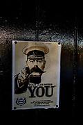 Putney, Greater London, Lord Kitchener, poster, UK General Views Putney Hard. Sunday  25/09/2016<br /> [Mandatory Credit; Peter SPURRIER/Intersport Images]