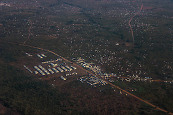 BidiBidi settlement is now the third largest in the world and holds more than 210,000 people since its opening in September. The camp is spread out onto five zones and covers around 210km of terrain, making it the biggest in the world in terms of size.