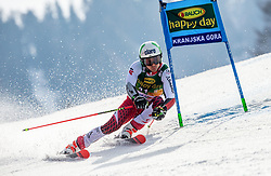 MEIER Daniel of Austria competes during the Audi FIS Alpine Ski World Cup Men's Giant Slalom 58th Vitranc Cup 2019 on March 9, 2019 in Podkoren, Kranjska Gora, Slovenia. Photo by Matic Ritonja / Sportida