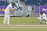 Harry Swindells batting during the Specsavers County Champ Div 2 match between Durham County Cricket Club and Leicestershire County Cricket Club at the Emirates Durham ICG Ground, Chester-le-Street, United Kingdom on 20 August 2019.