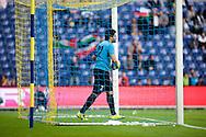 14.09.13. Brondby, Denmark.Iraki goalkeeper Noor Sabri Albairawi during the international friendly match at the Brondby Stadium in Denmark.Photo: © Ricardo Ramirez