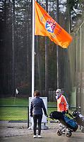 SOESTDUINEN - Vlag 110jaar NGF, Algemene Ledenvergadering van de NGF (Nederlandse Golf Federatie) met bestuurswisseling. COPYRIGHT KOEN SUYK