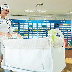 20150601: SLO, Cross country - Katja Visnar announces her pregnancy