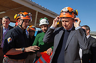 Europe, Turkey, Adana. <br /> James Le Mesurier, head of MayDay Rescue, an organisation that trains and assists the White Helmets, a group of Syrians working across Syria to rescue civilians, at a training centre near the southern Turkish city of Adana. Former British foreign secretary Philip Hammond and former British ambassador to Turkey Richard Moore visit the facility.