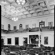 Senate Chamber at Texas Capitol in Austin.<br /> Photo by Nathan Lambrecht