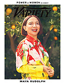May 05, 2021 - US: Maya Rudolph Covers Variety Magazine - Power Of Women In Comedy