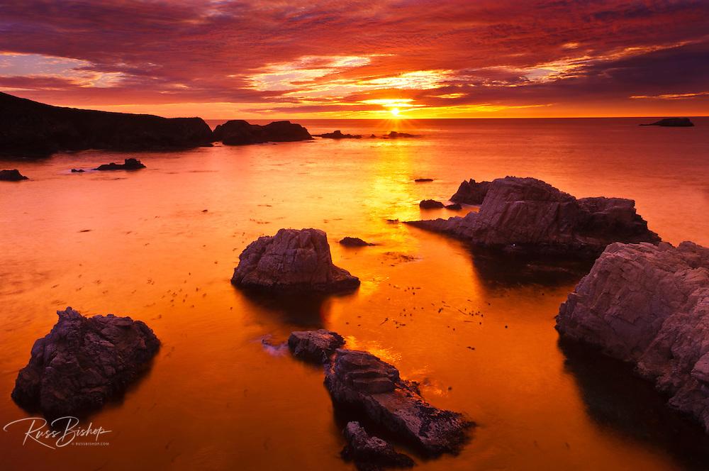 Sunset at Soberanes Point, Garrapata State Park, Big Sur, California USA